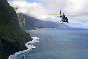 Molokai Deluxe Early Bird Helicopter Tour