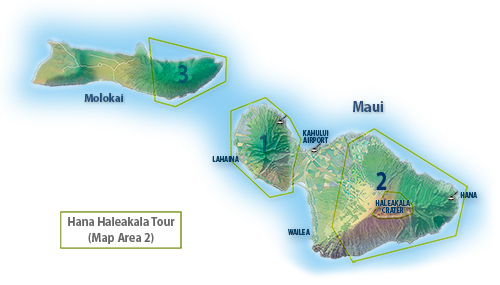 Maui Helicopter Tour Route